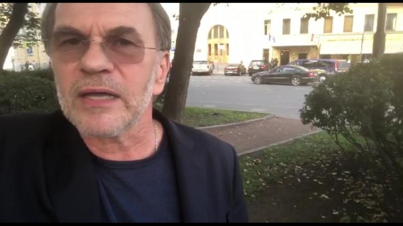 Ответы на вопросы и приглашение от А. Г. Гуськова на предпоказ 10.10. в Синема 5!