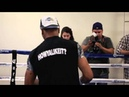 SHAWN 'SHOWTIME' PORTER USES THE MAGIC BOXING TENNIS BALL HAT - / PORTER v BROOK / iFL TV
