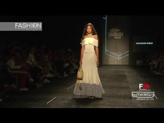 ALEXANDRA BUENO Moda a la Colombiana Spring Summer 2019 COLOMBIAMODA 2018 - Fashion Channel