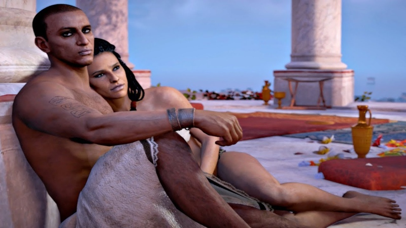 Assassin's Creed Origins - Bayek Aya Love Scene