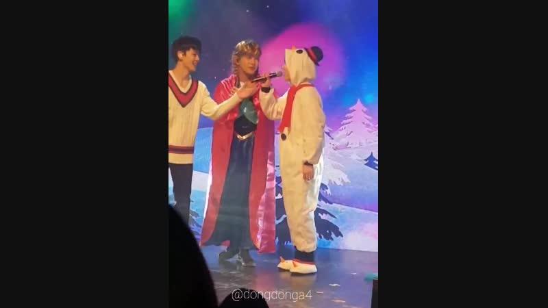 FANCAM | 24.12.18 | Donghun (Phototime) @ X-MAS PARTY