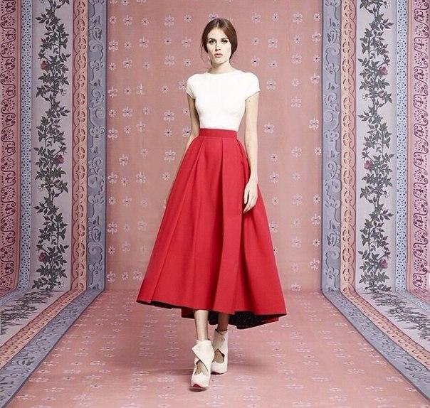 Нью лук стиль юбка