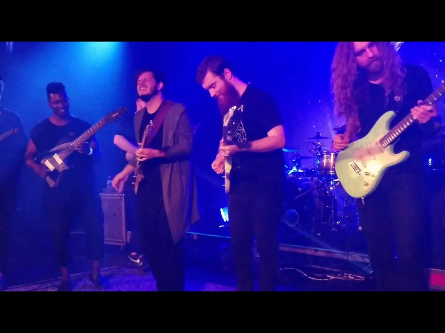 Jam Session @ The Roxy Los Angeles. Plini, Tosin Abasi, David Maxim, Jake Howsam and Nick Johnston