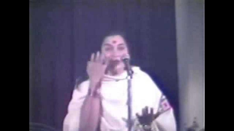 Лекция Шри Матаджи Сахасрара Чакра, часть 2, 03.04.1981