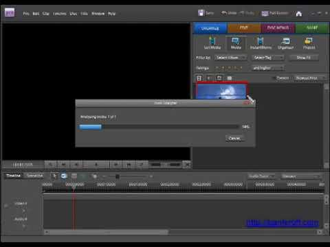 Авто-разбивка видео-файла на сцены в Adobe Premiere Elements. (Сергей Панферов)