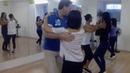 Сальса в Школе танцев Чино - Урок продолжающей группы