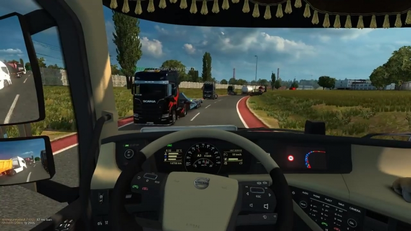 ★ IDIOTS on the road 47 ETS2MP Funny moments Euro Truck Simulator 2 Multipl