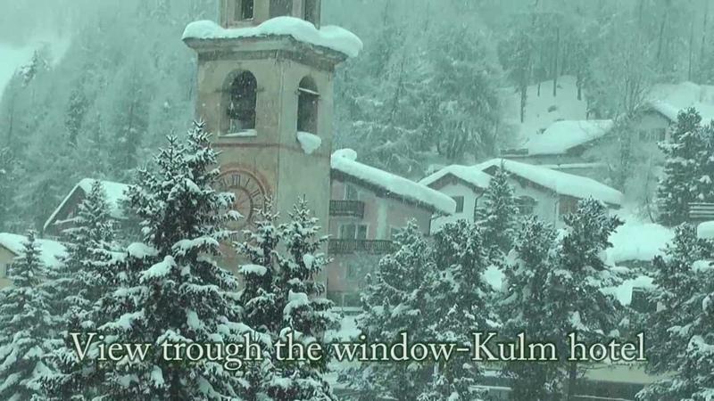 Enchanted winter landscape-St.Moritz-Swiss.Full HD