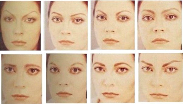 Темные брови сделать светлее перманентный макияж