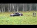 Расстрелянный автомобиль