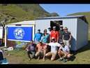 2017 North Route Elbrus RMI Team Builds Dining Hut at Basecamp