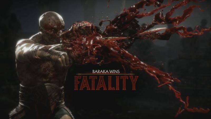 Barakas Disgusting New Fatality - Mortal Kombat 11 Gameplay