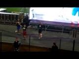 360°Freestyle | LP - Футбольный фристайл на трансляции матча Россия - Греция 2012 Амкар