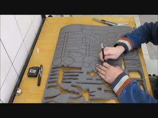 Подложка для инструментов - Проект « Дача »