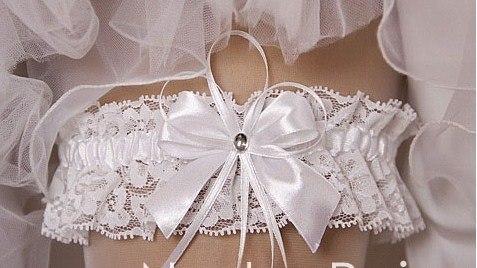 Свадебная подвязка своими руками фото