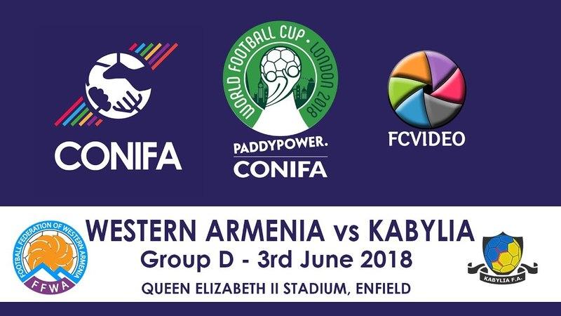 CONIFA World Football Cup - Western Armenia v Kabylia