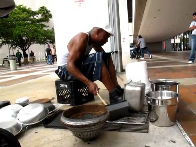 Street Drummer- Tony Jam