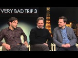 Interview Very Bad Trip 3 - Bradley Cooper  Ed Helms & Zach Galifianakis