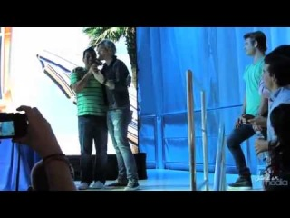 TEEN BEACH MOVIE Cast Hangs at Disney D23 Expo   Ross Lynch, Grace Phipps