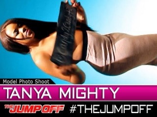 MODEL: Tanya Mighty - Live Model Photoshoot @  TheJumpOff 2012 [WK14]