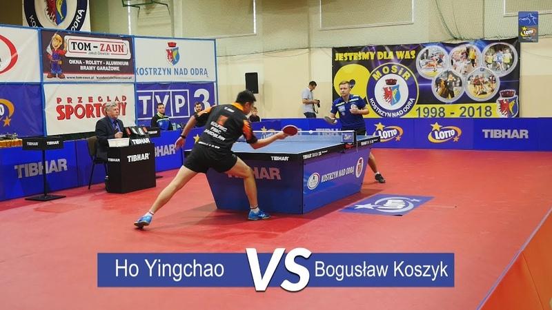 Lotto Superliga. Ho Yingchao vs Bogusław Koszyk