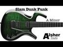 Slam Dunk Funk A minor Guitar Jam Track