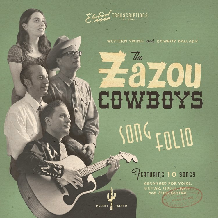 "The Zazou Cowboys ""Song Folio"" (2012)"