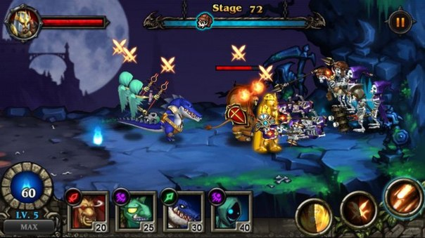 Скачать Hero Defense: Kill Undead для android
