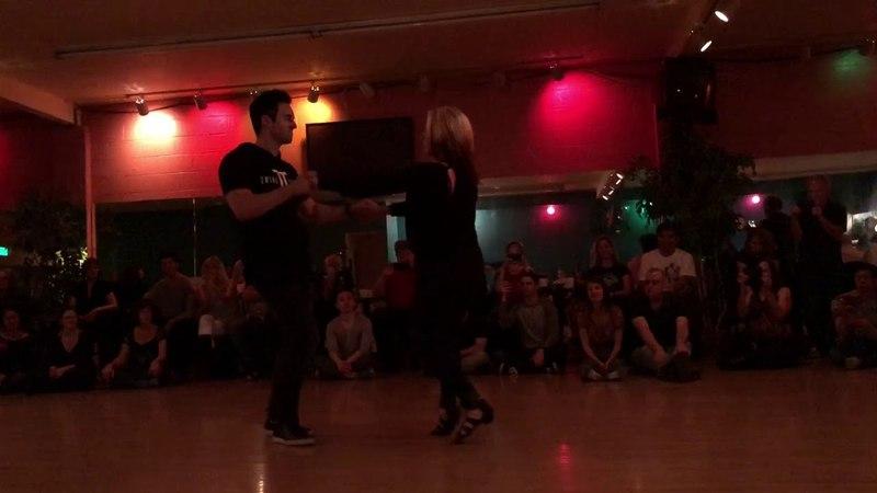 Two Left Feet 2018 - Jordan Frisbee and Tatiana Mollmann Demo