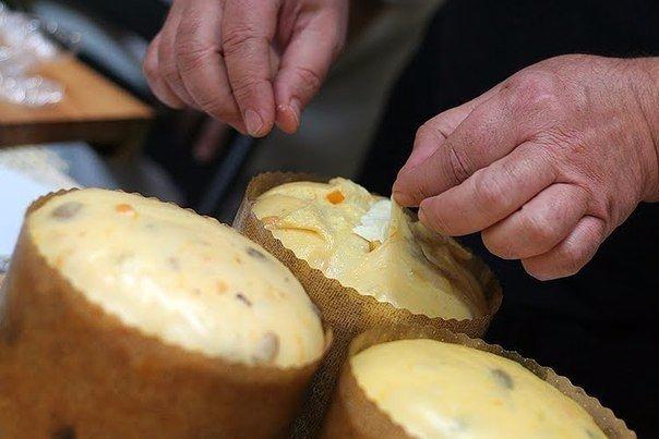 Панеттоне.  Панеттоне - традиционной пасхальной выпечкой в Италии.  Вам потребуется:  Мука...