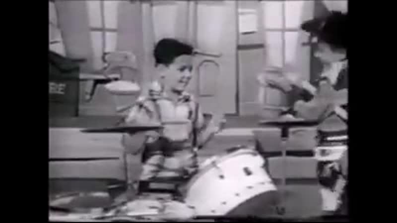 A young Steve Gadd on the Mickey Mouse club from 1957