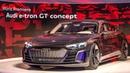 Audi e-tron GT World Premiere with Robert Downey Jr
