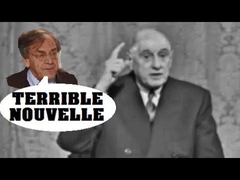 Finkielkraut en PANIQUE Cite De Gaulle « les antisémites nont plus honte »