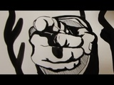 How to Draw a Hand with a Pointing Finger Uncle Sam Gesture