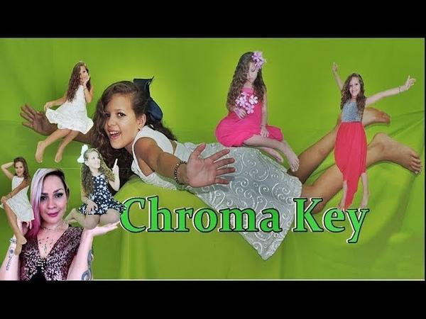 Fotos magicas - Fundo Chroma Key