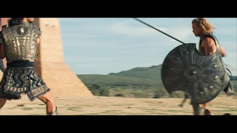 Ахиллес против Гектора Троя 2004 1080p