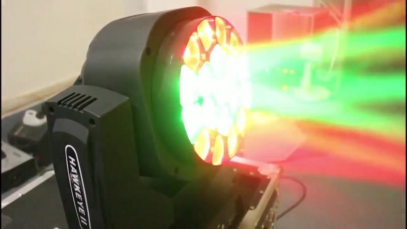 19x15w Bee Eye K10 4in1 RGBW Beam Wash Zoom LED Moving Head