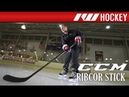 CCM RibCor Reckoner On-Ice Stick Review