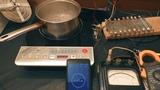 1 литр воды на индукционной печи