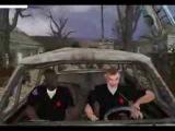 GTA S T A L K E R Фильм  Укуренные из Vice City #2 Телепортация в S T A L K E R