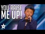 13 Y.O Kid Singer Gets Standing Ovation on America's Got Talent Got Talent Global