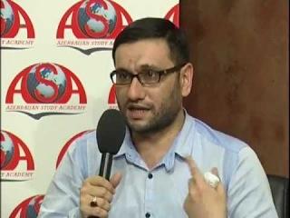 Haci Sahin ve Tenzile Rustemxanli - Hicab barede debat