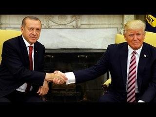 Trump'ın Elini Çekmeye Cesaret Edemediği Tek Lider BAŞKAN ERDOĞAN ! :))