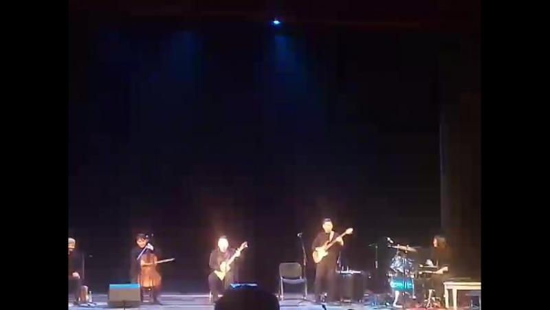 Группа Khoomei Beat и Дерек Браун на одной сцене!