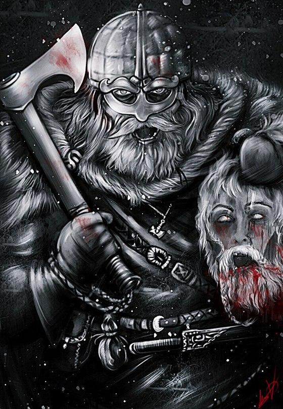 ⊕Древние скандинавы считали, что земля, которую им приходится оборонять своими ж...