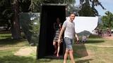 TRUTHEHOLE - A human scale Camera Obscura - Pinhole