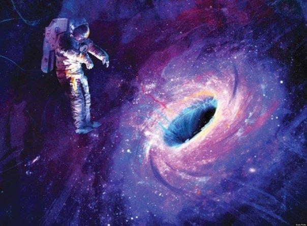 Гибель воображаемого космонавта и проблемы астрофизики.