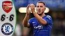 Arsenal vs Chelsea 6 6 Highlights Goals Resumen Goles Last Matches HD