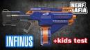 Нёрф Инфинус Обзор Бластера Nerf Infinus Review Blaster