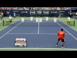 Arthur Ashe Kids Day Highlight Kim Clijsters Roger Federer Andy Roddick Serena Williams